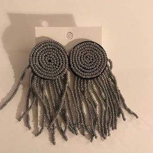 Jewelry - Amazing grey earrings - dress up or down